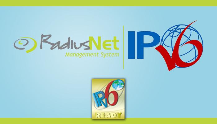 IPv6 e IPv6 no RadiusNet